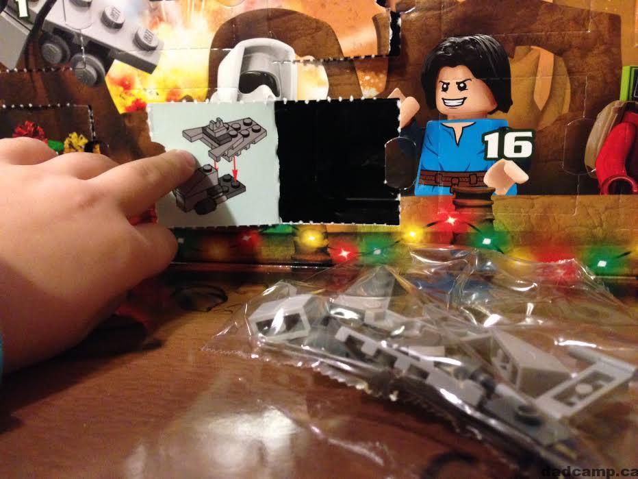 Star Wars LEGO Advent Calendar Republic Assault Ship
