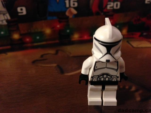 2013 Star Wars LEGO Advent Calendar Clone Trooper Minifig