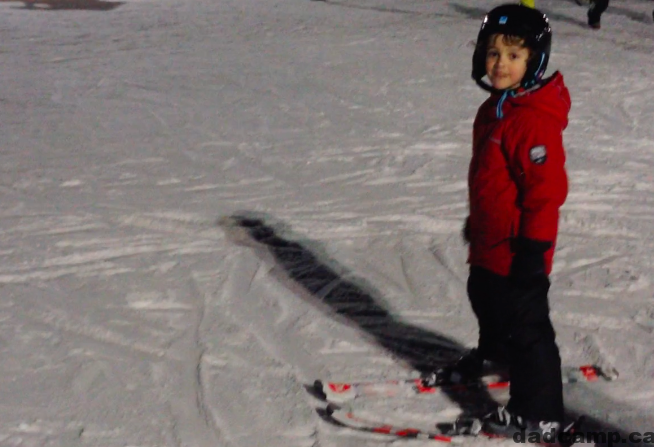 Zacharie Skiing Lessons