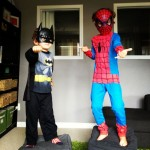 July 13 - Superhero tag teaming with Z