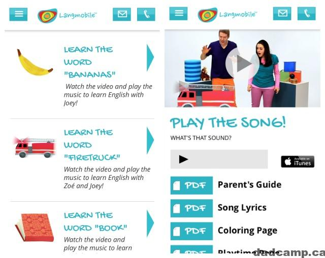 Kids Learn Language With Langmobile