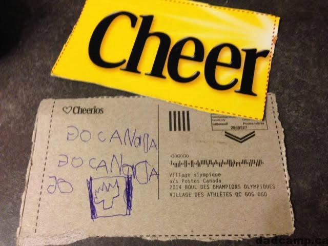 Go Canada Go - Cheerios Cheering Team Canada