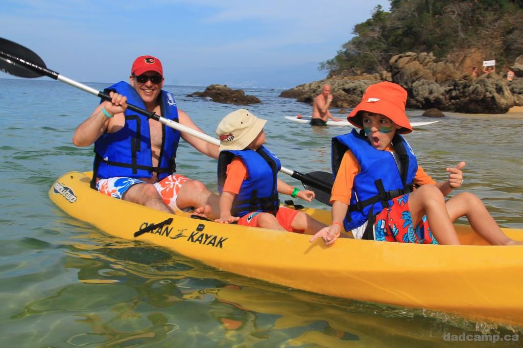 Ocean Kayaking At Las Caletas