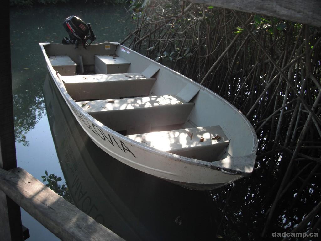 Boat at El Salado