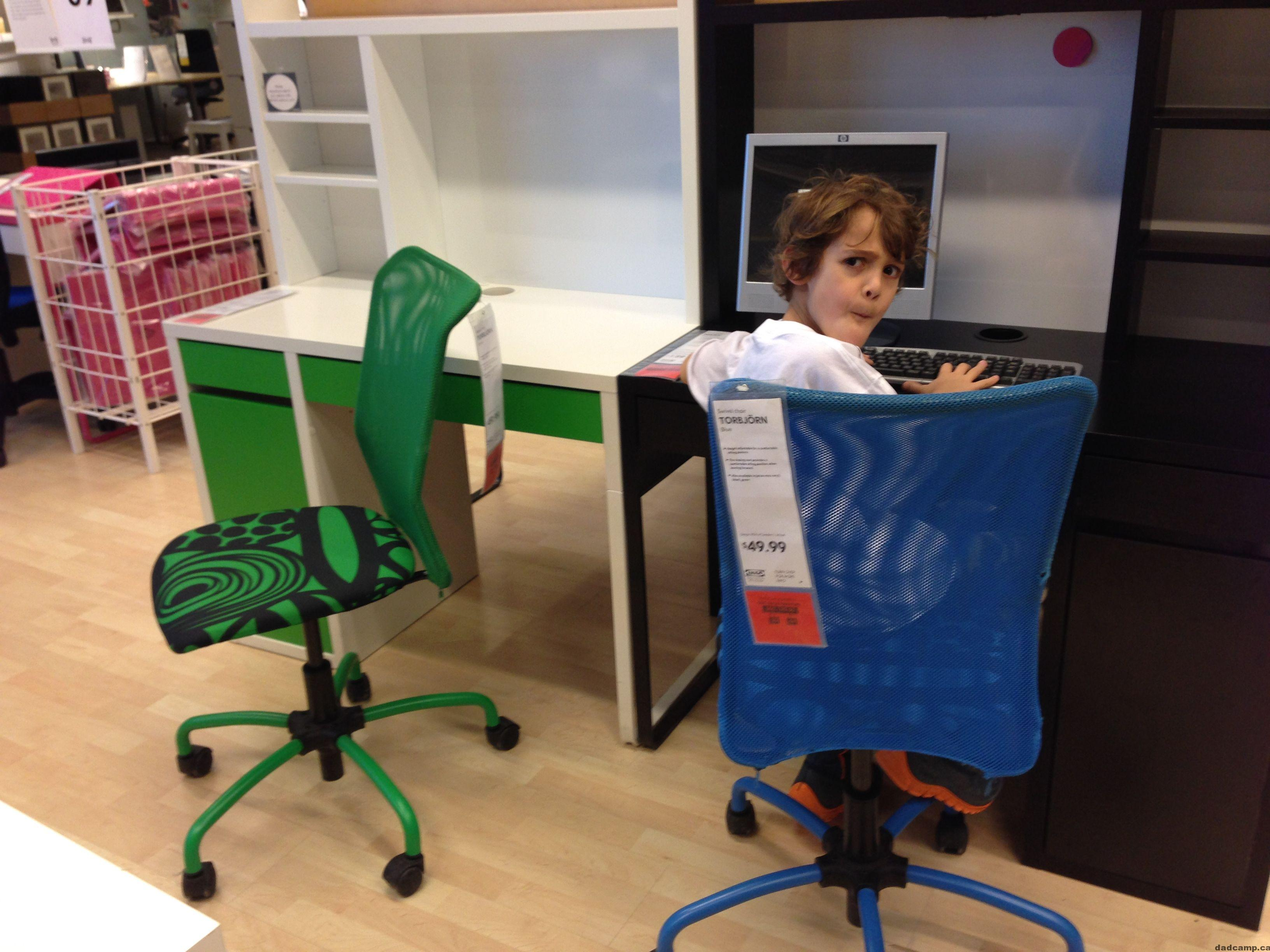 Best New Desk For A Big Kid's Room From Ikea
