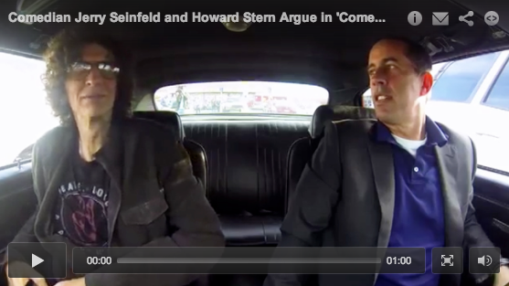 Howard Stern and Jerry Seinfeld Discuss Fatherhood