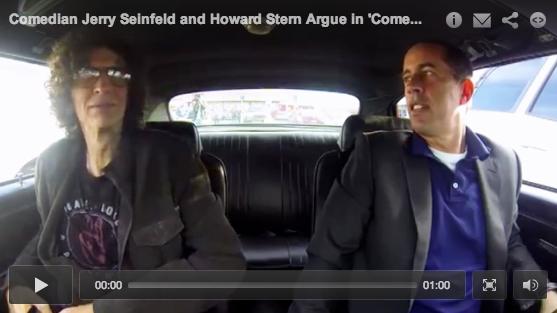 Howard Stern and Jerry Seinfeld Discuss Fatherhood