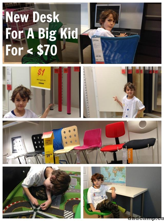 The Best Big Kid Desk Is At Ikea For Less Than $70   DadCAMP
