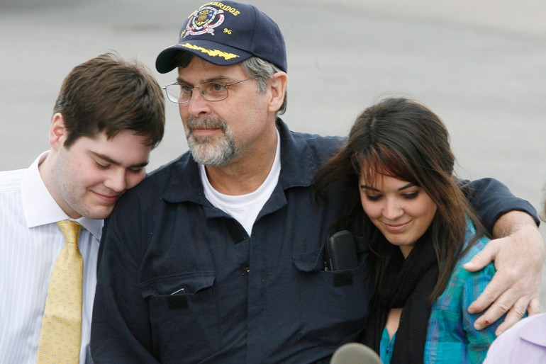 Captain Phillips and his kids