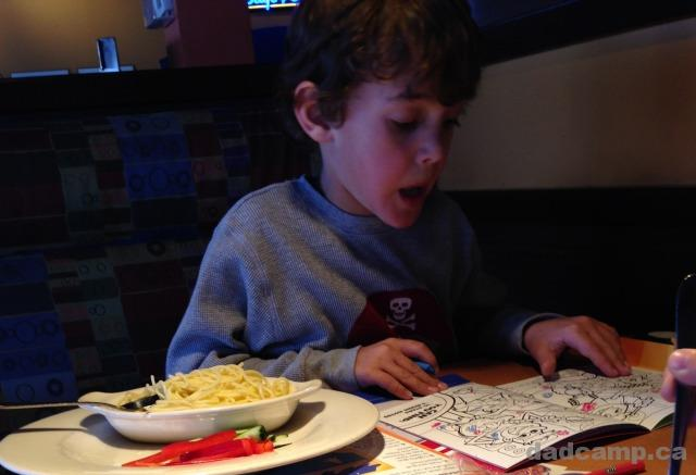 Zacharie At Boston Pizza