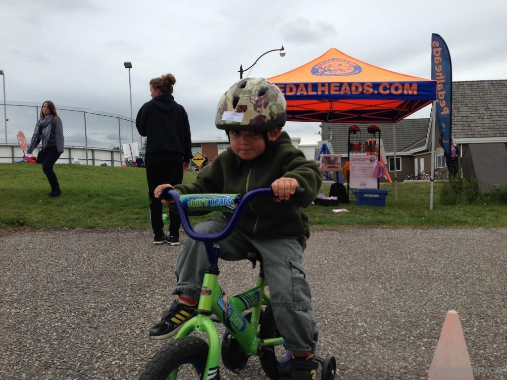 Charlie at Pedalheads - DadCAMP