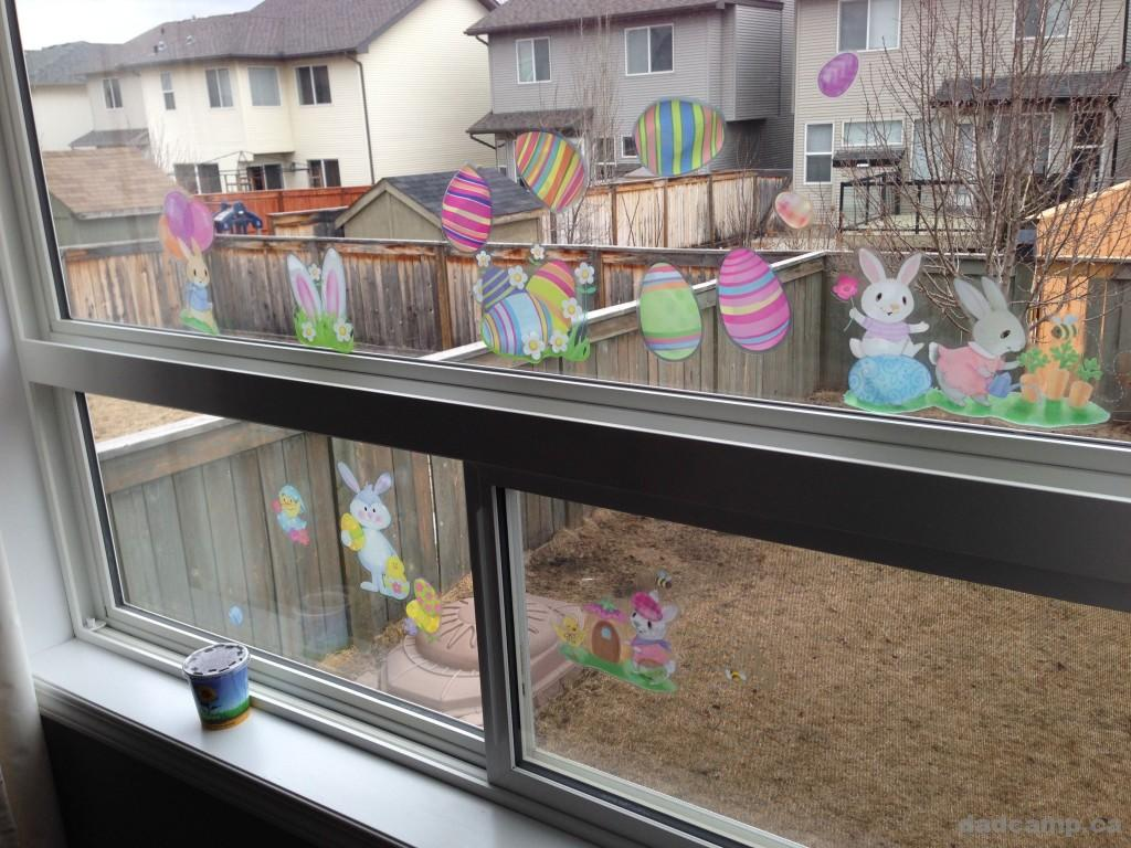 Easter Decoration Window Clings