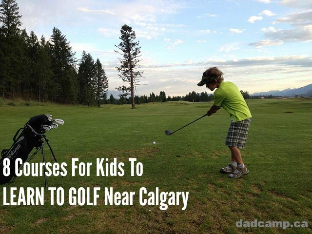 Kids Learn To Golf Near Calgary
