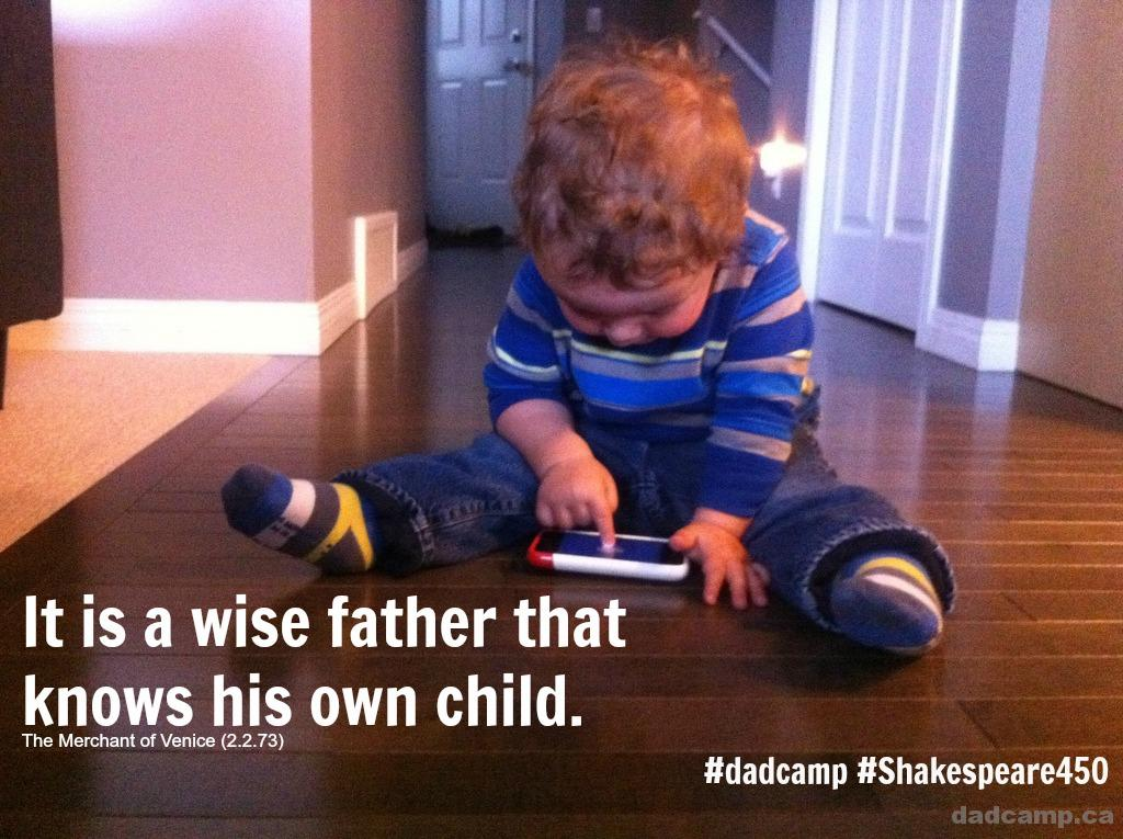 Best Quotes About Fatherhood #Shakespeare450