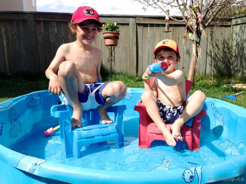 Party Pool - DadCAMP