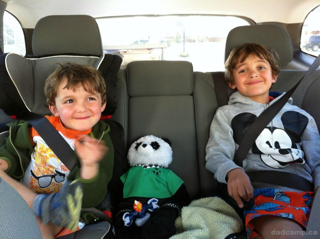 Zacharie and Charlie and Patch