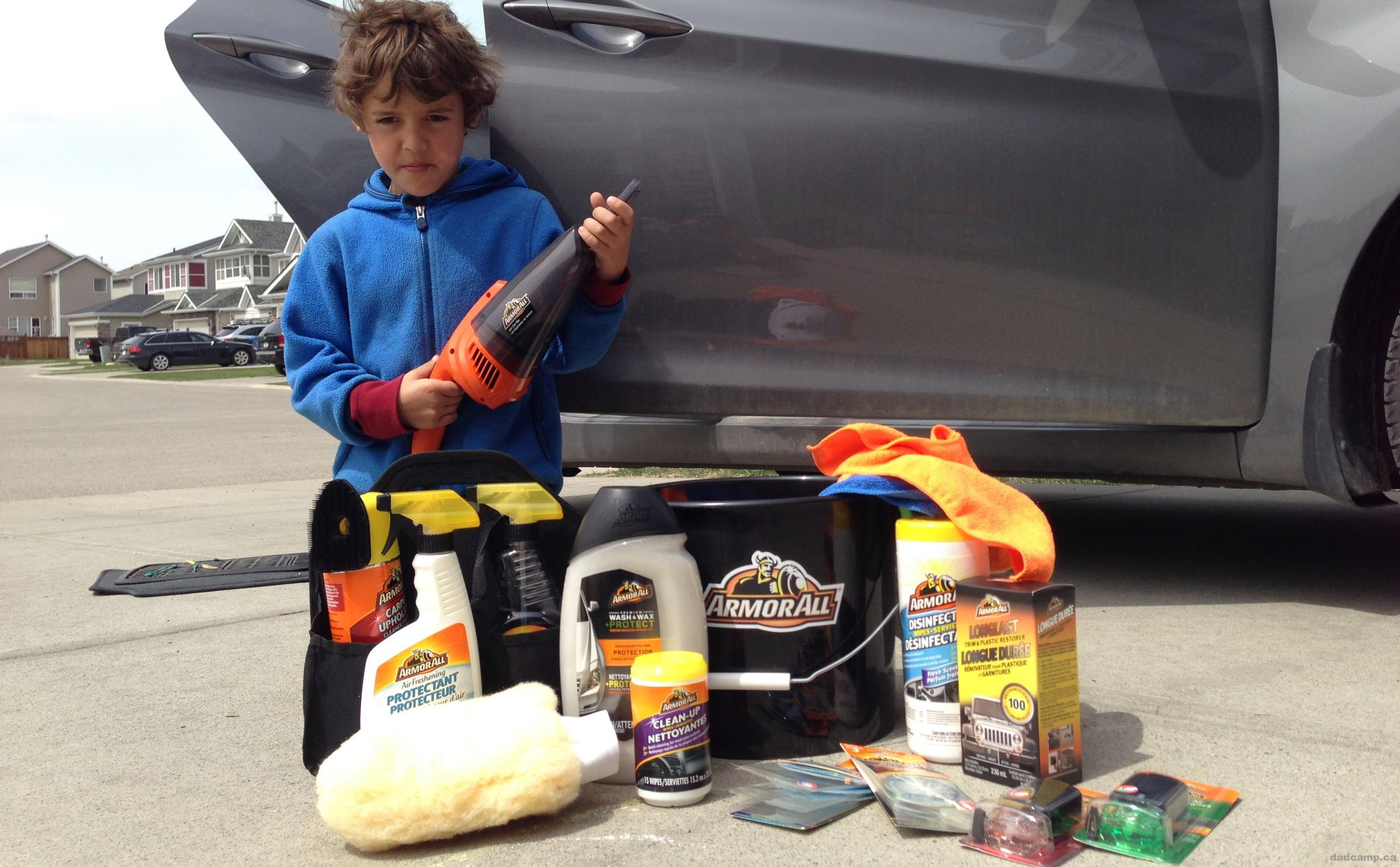 CONTEST: Armor All Spring Clean Challenge Kit from DadCAMP
