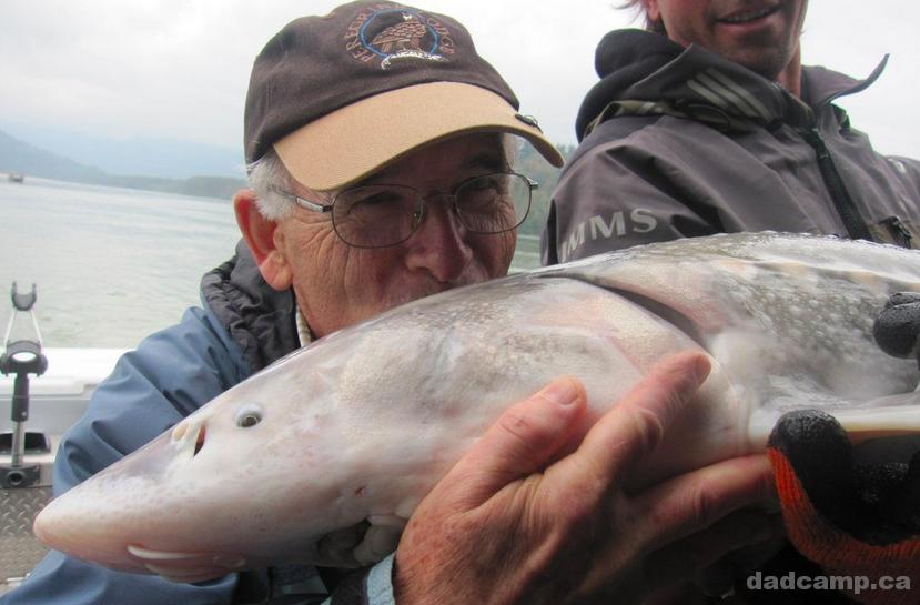 Sturgeon Fishing in Chilliwack - DadCAMP