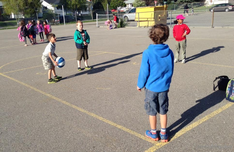 Bring A Ball To School And Make More Friends - DadCAMP