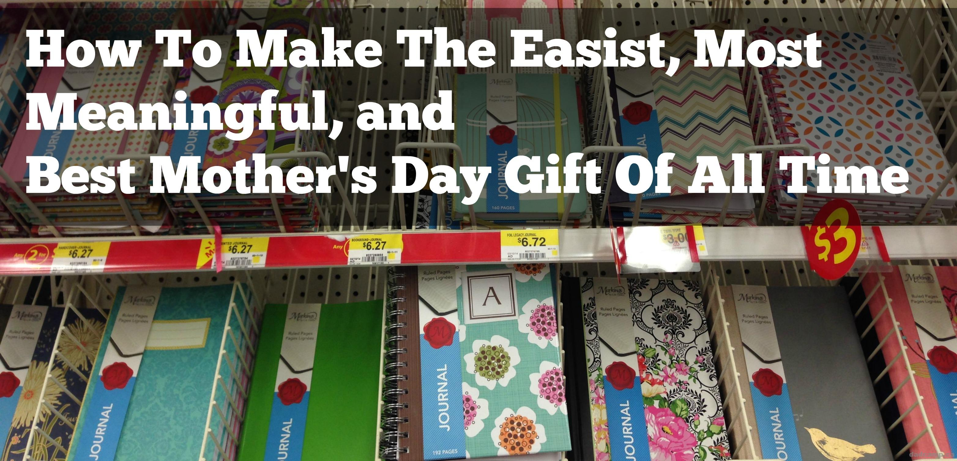 The Mother's Day Journal Is Best Mother's Day Gift Of All Time