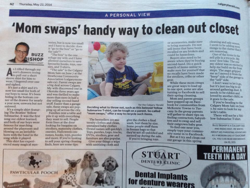 Calgary Herald DadCAMP - May 23, 2014