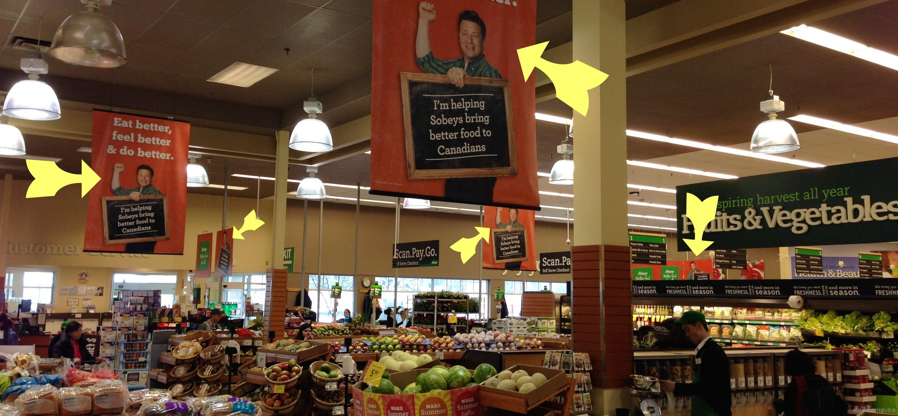 Where's Jamie Oliver At Sobey's