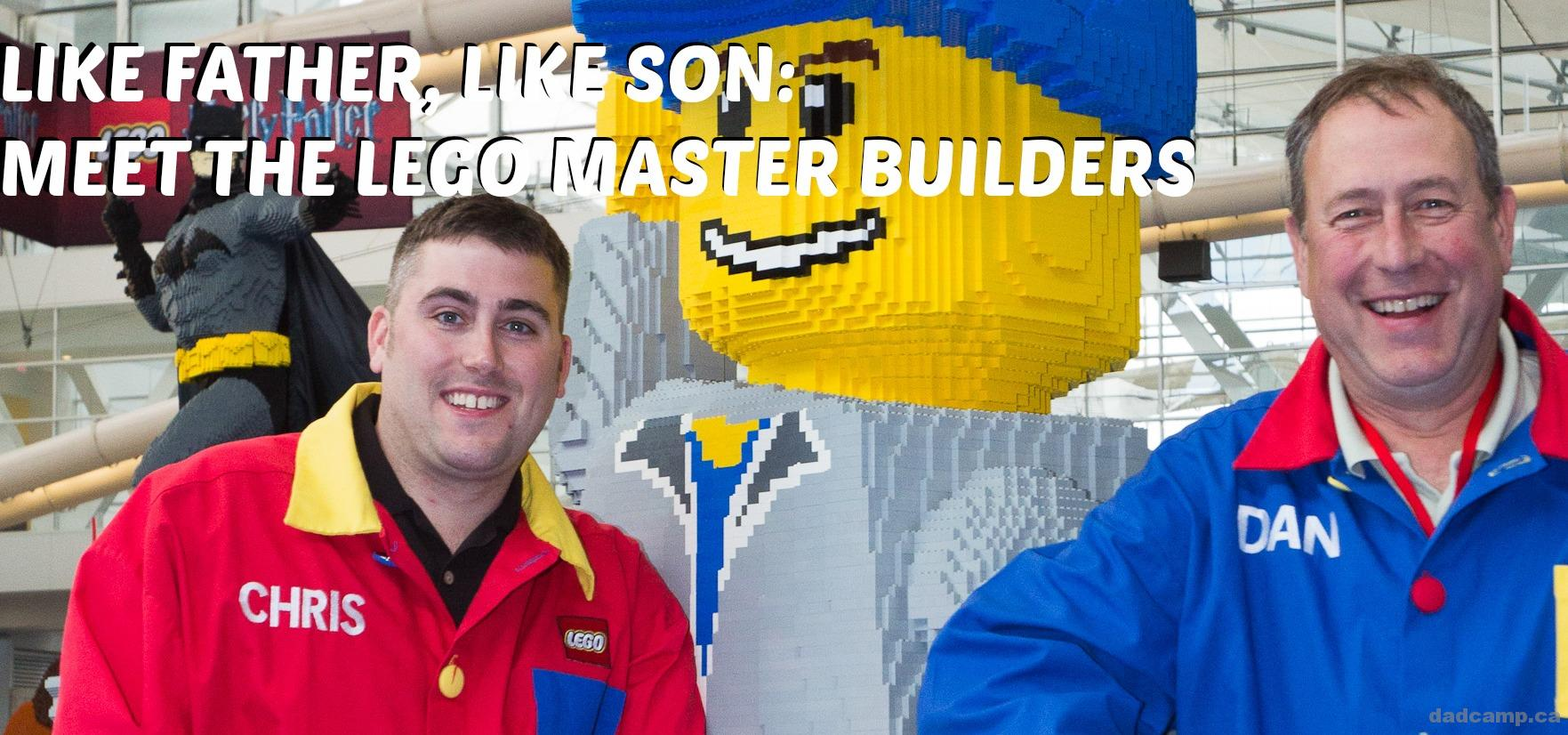 LIKE FATHER, LIKE SON: ONE-ON-ONE WITH A LEGO MASTER BUILDER