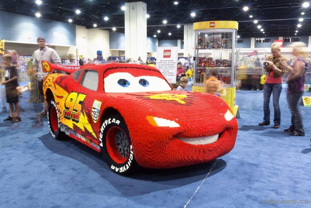 LEGO Lightning McQueen - DadCAMP