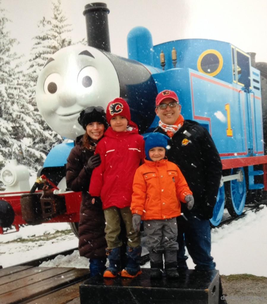 A Day Out With Thomas at Heritage Park - DadCAMP