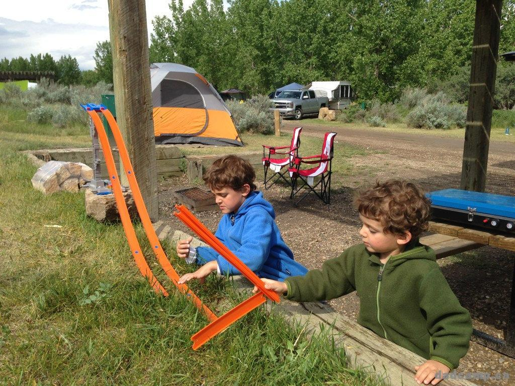 Bring Your Hot Wheels With You Camping - DadCAMP