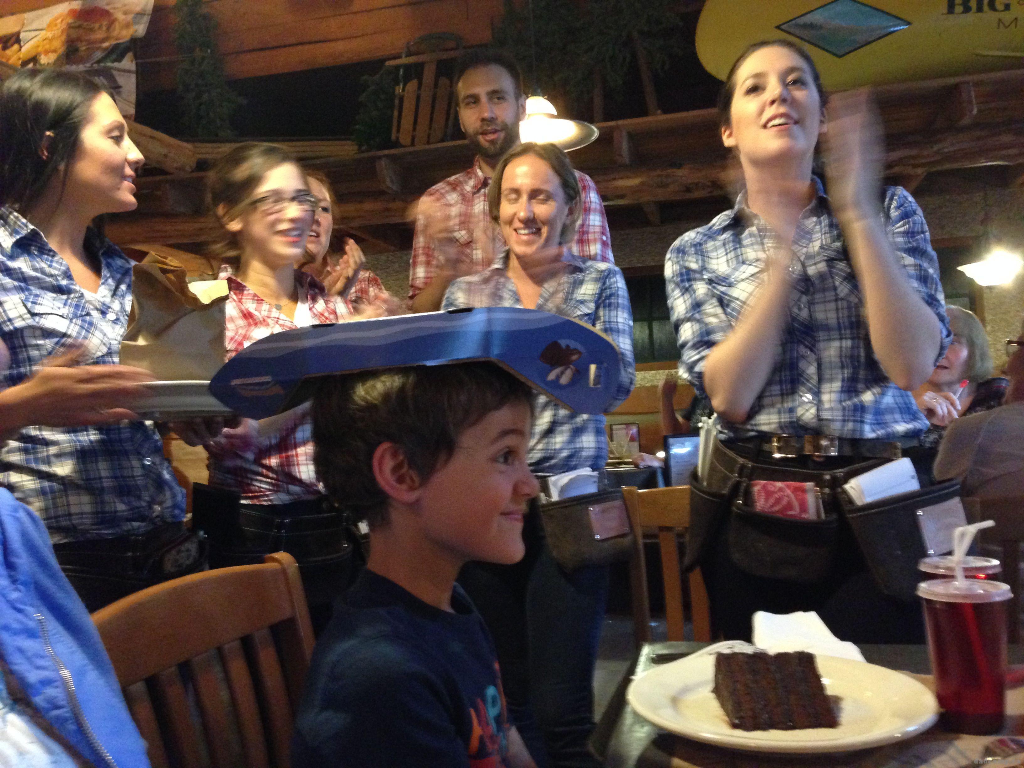 Zacharie Birthday at Montanas