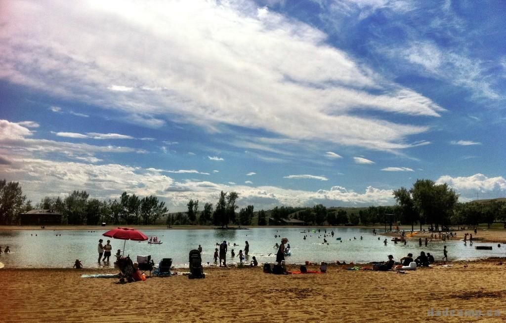 Sikome Lake in Calgary