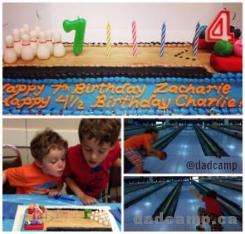 Zacharie and Charlie Birthday Party - DadCAMP