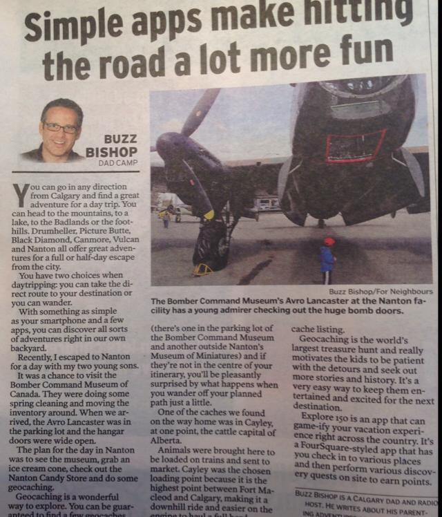 Calgary Herald Neighbours DadCAMP - June 5, 2014