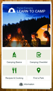 Learn To Camp App - DadCAMP