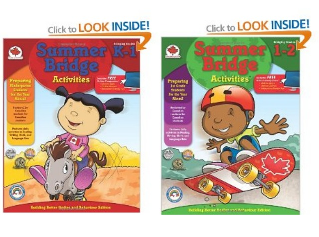 Summer Bridge Books - DadCAMP