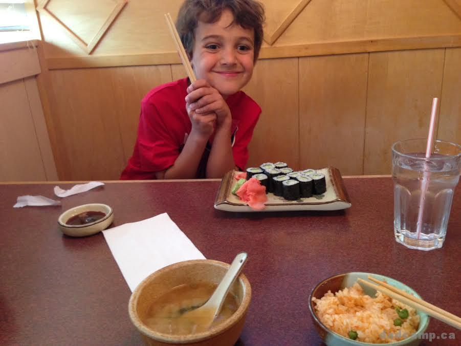 Zacharie Sushi Lunch