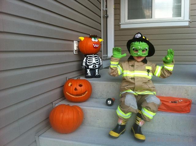 Zacharie Frankenstein Fireman
