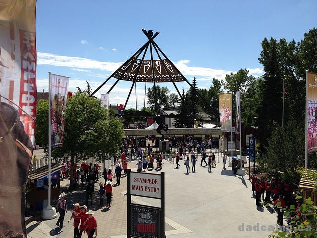 Main Entrance Calgary Stampede