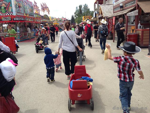 Wagon at Stampede -