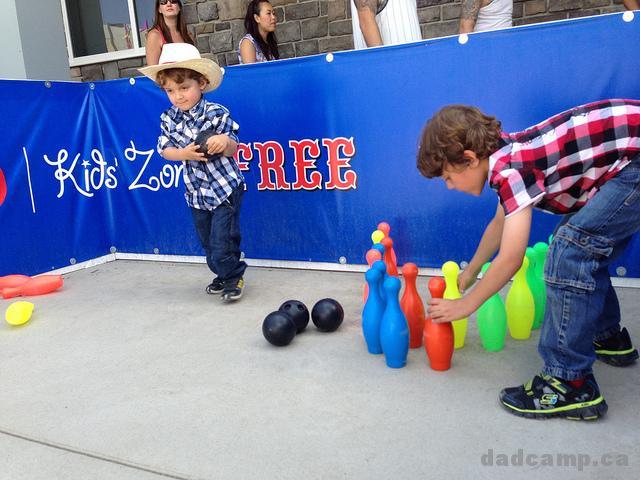 BMO Kids' Zone - DadCAMP