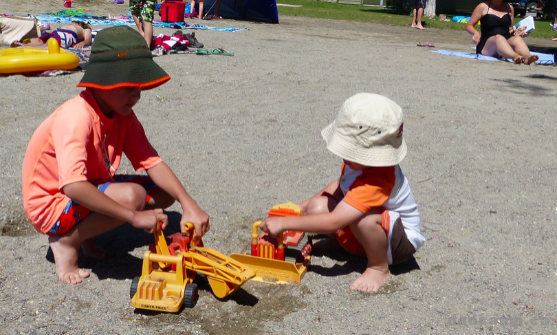 Fisher Price Sand Toys - DadCAMP