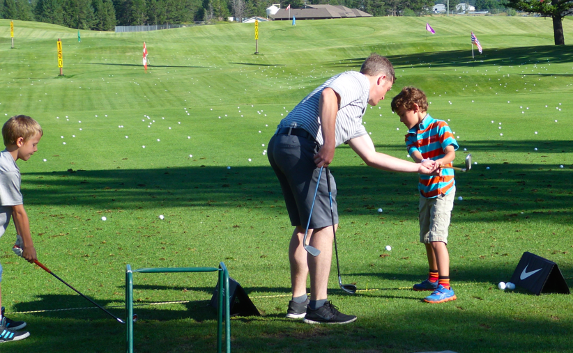 Zacharie Golf Lessons at Copper Point