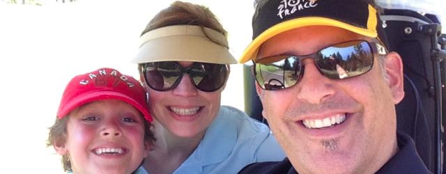 Mom Dad Zacharie Golf - DadCAMP