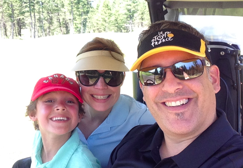Mom Dad Zacharie Golf - DadCAMP