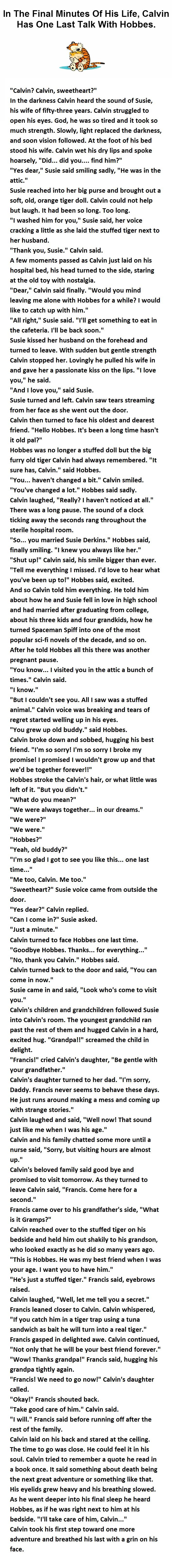 Calvin and Hobbes Grandchild - DadCAMP