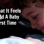 This is what it feels like to hold a baby for the first time - DadCAMP