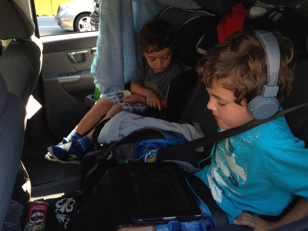 Kids In The Back Seat Road Trip
