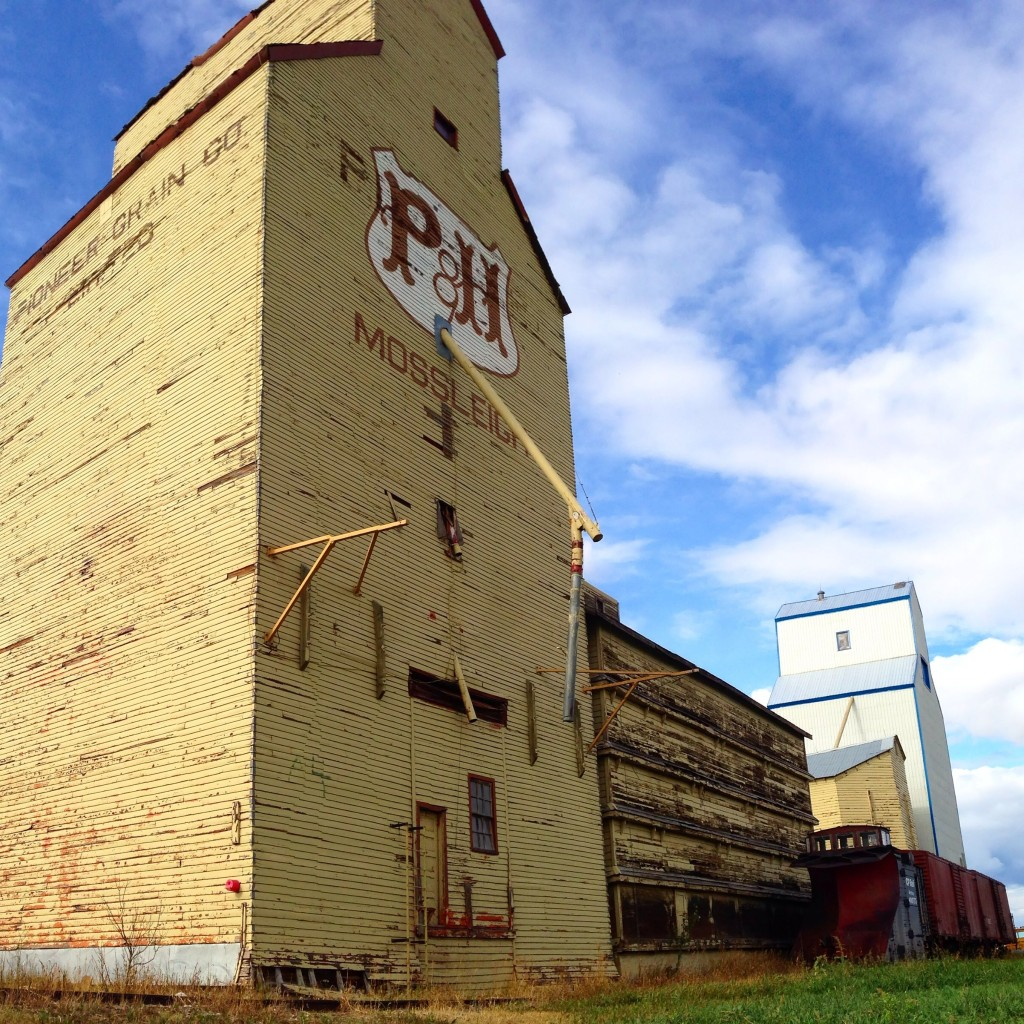 Grain Elevators in Alberta