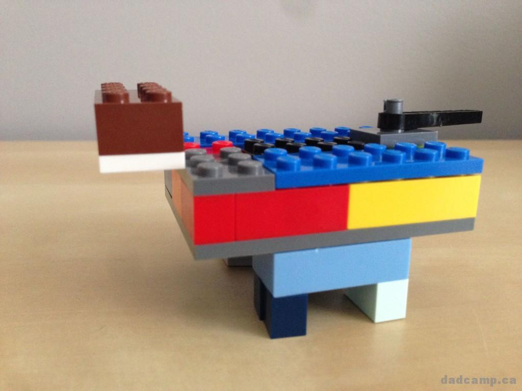 LEGO Challenge - Allosaurus